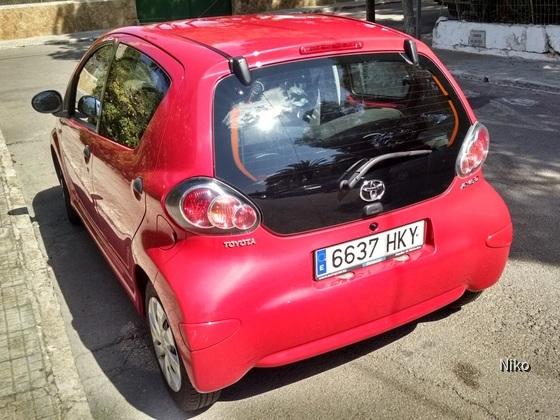 Toyota Aygo, Europcar Mallorca