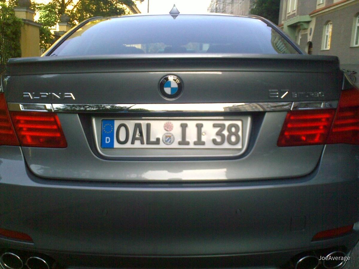 BMW Alpina B7 Biturbo - München