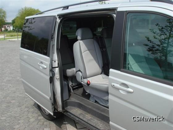 MB Viano 2.2CDI von Europcar