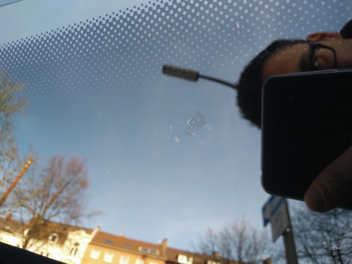 Glass Medic repariert