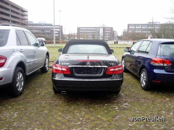 Sixt LTAR Mercedes Benz E200 CGI Cabrio