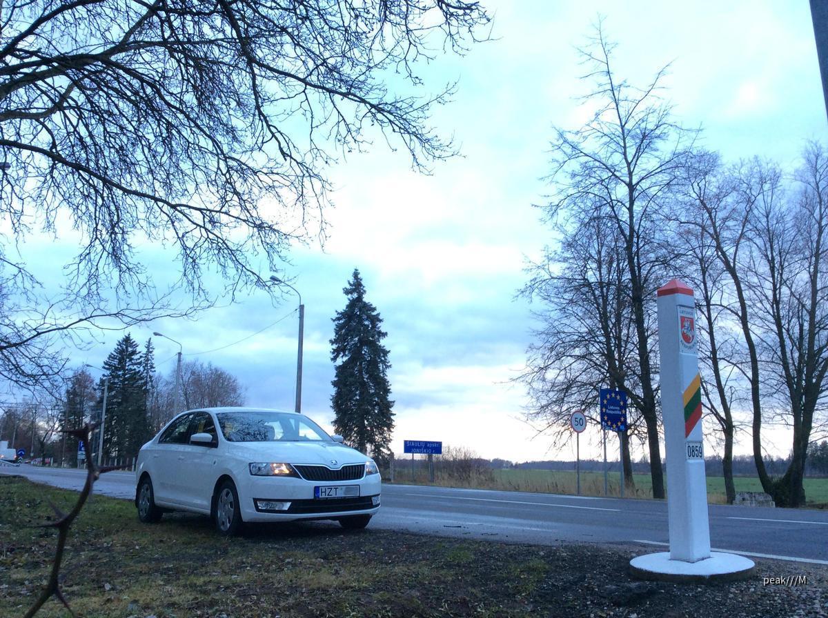 Rapid 1.2 TSI von greenmotion Riga