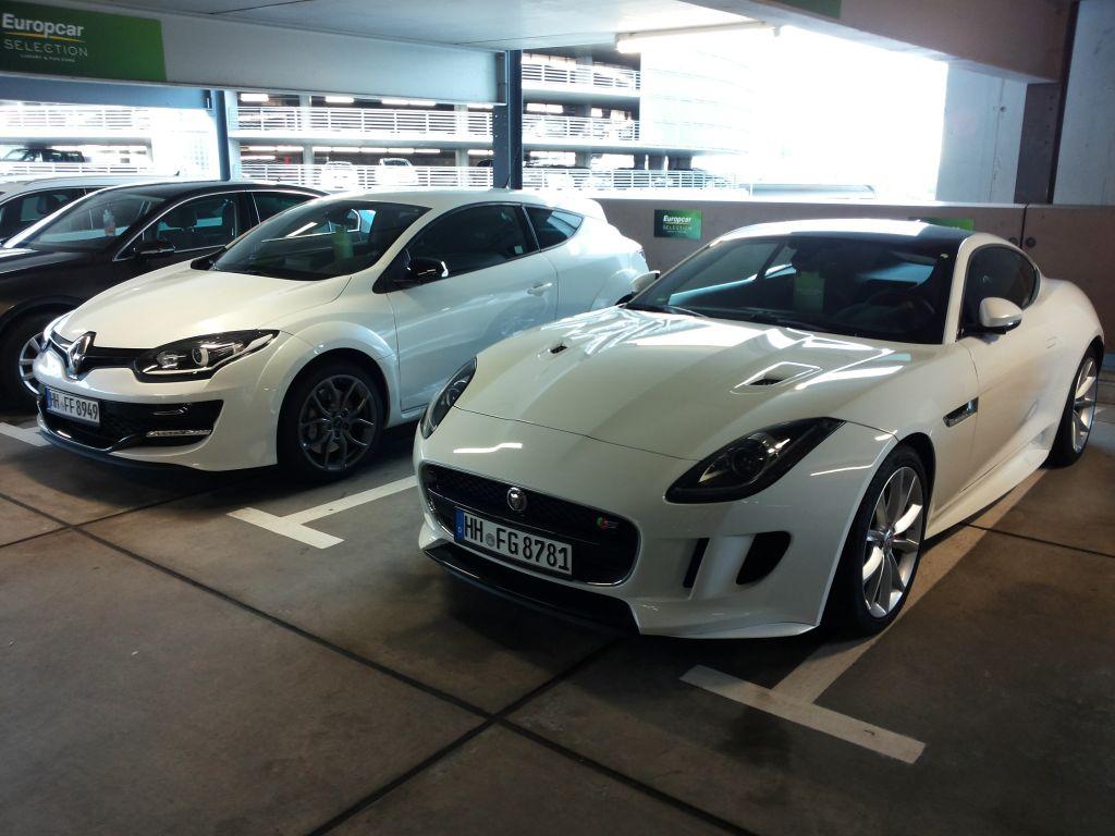 Prestige-Flotte Europcar
