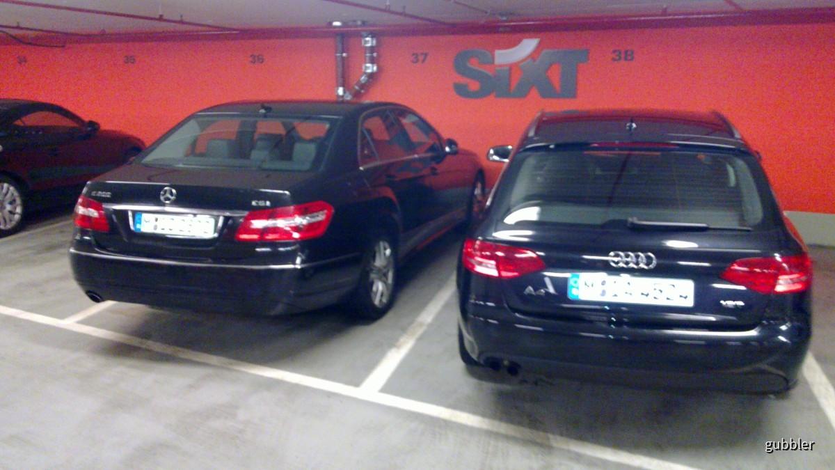 Sixt - Flughafen Frankfurt - 20.03.2010 ca. 23:30 Uhr