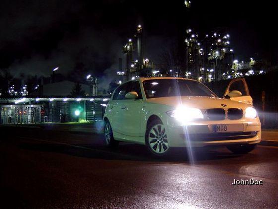 BMW 116i Weiss