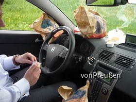 Volvo V50 ohne McDonalds Halterung