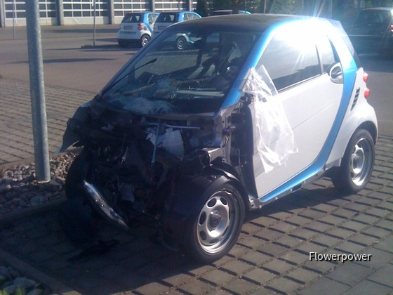 2 Totalschaden Car2Go