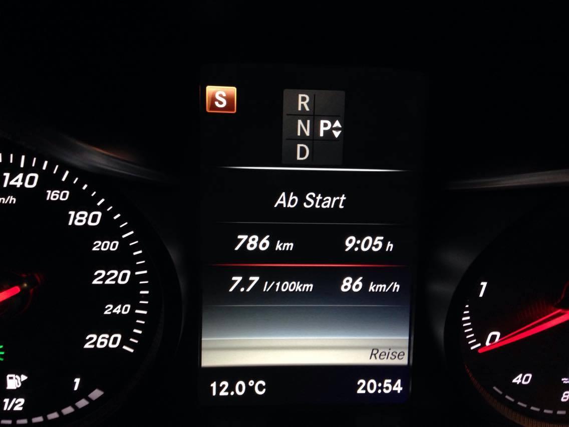 Mercedes C180 Verbrauch