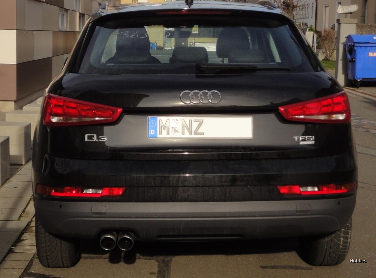 Audi Q3 1.4 TFSI ultra   Sixt Nürnberg Mitte