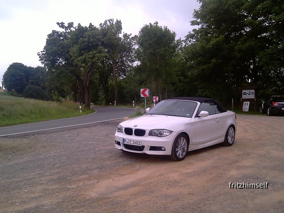 BMW 120d cabrio sixt Dresden