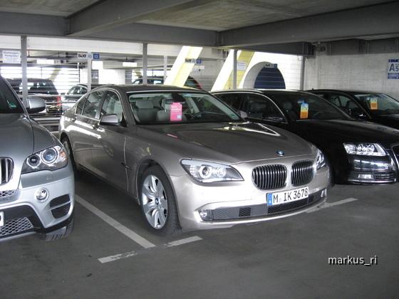 SIXT LEJ 11.06. - BMW 730d Automatik