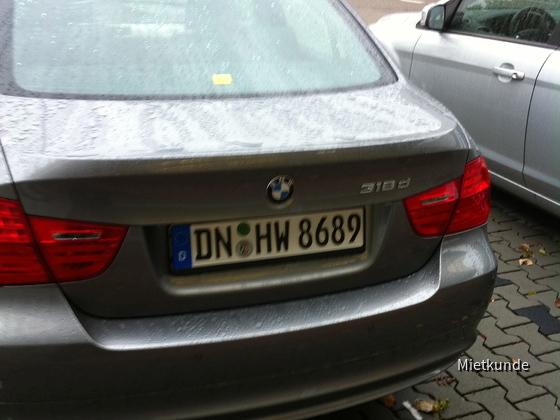 10.10.11 09:00 Uhr Hertz Mannheim Loewitstrasse