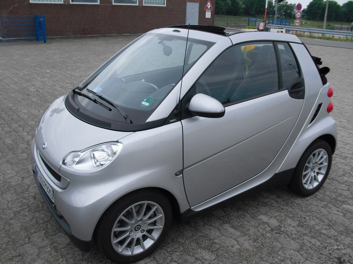 Smart Cabrio Sixt Reeperbahn