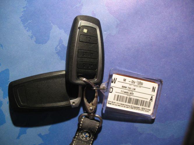 BMW 730d Schlüssel