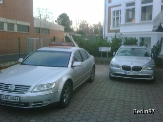 Phaeton V10 & BMW 730D