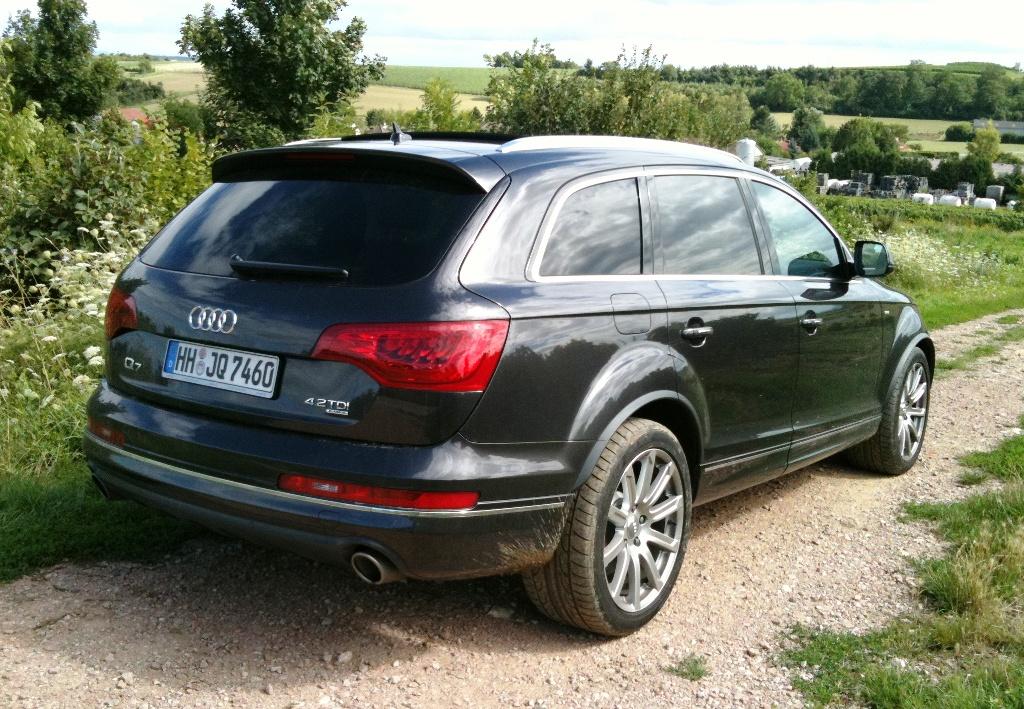 Audi Q7 4,2 TDI von Europcar