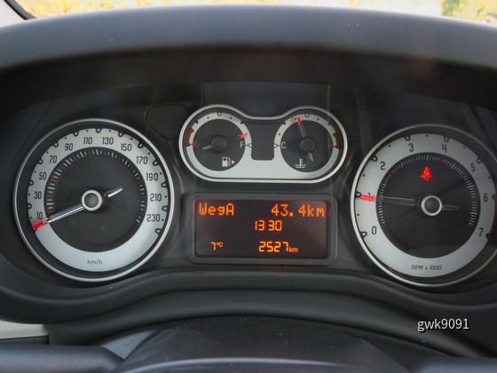 Fiat 500L von Europcar
