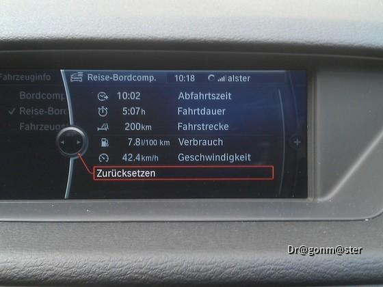 BMW X1 Reisecomputer
