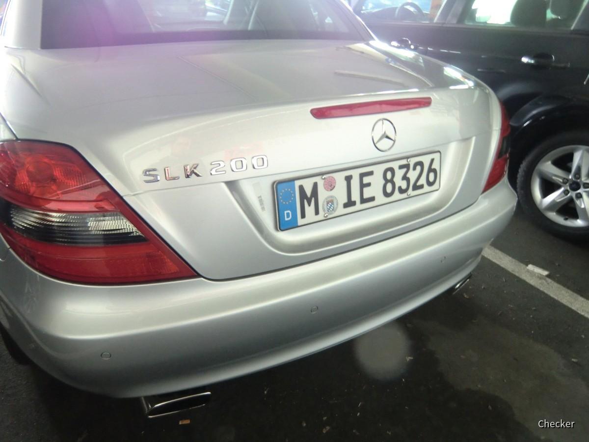 MB SLK 200 Sixt