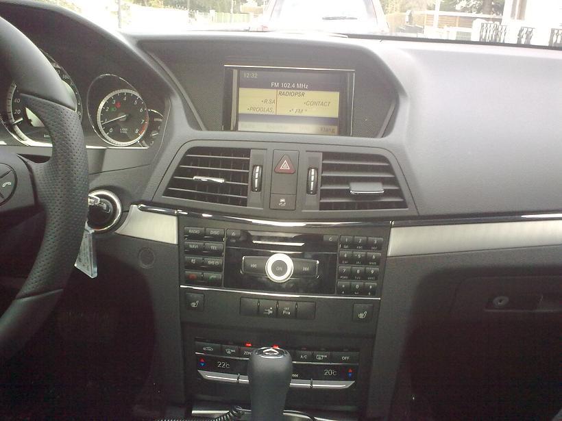 Mercedes E 250 CGI Coupe von Sixt