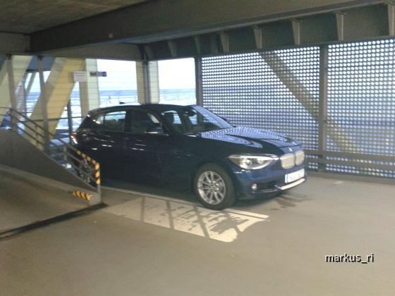 BMW 120d F20 Urban Line Schalter, Sixt