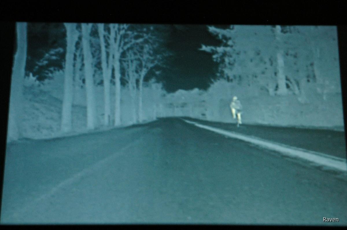 Kamerabild BMW Night Vision