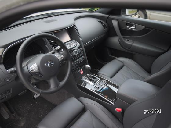 Infinit QX70 3.0d von Europcar
