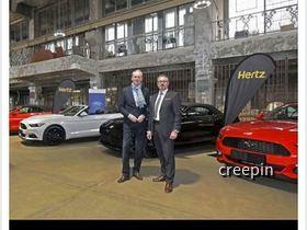 Hertz Mustang 2017