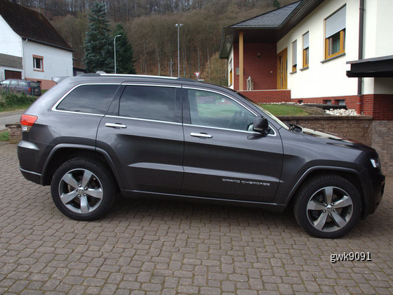 Jeep Grand Cherokee von Sixt