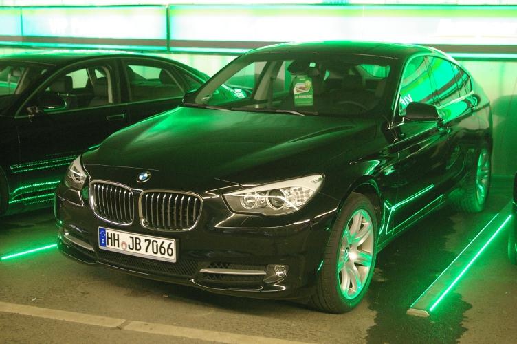 BMW 535i GT Europcar Hamburg Airport