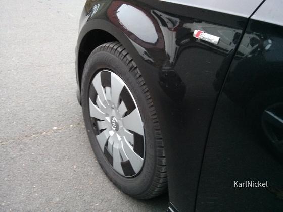 Audi A3 Plasteradkappen