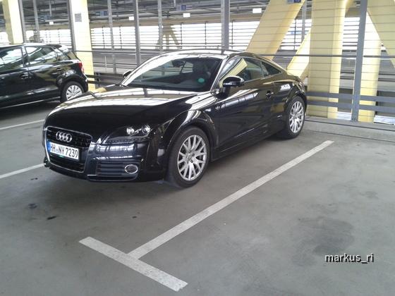 Audi TT TFSI @ Europcar LEJ 14.07.2012