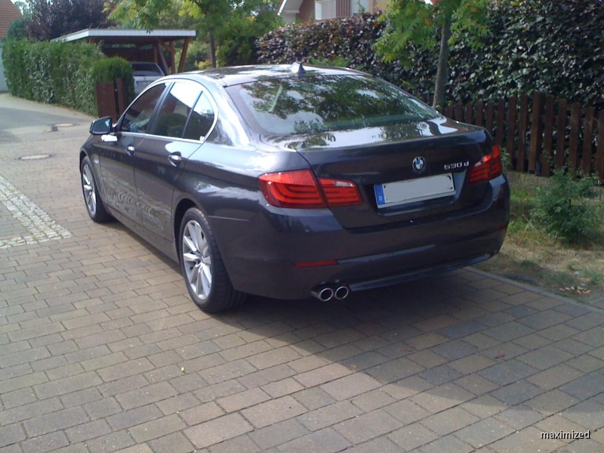BMW 530dA F10 von Hertz