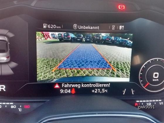 Audi TTS Rückfahrkamera