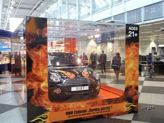 Sixt Burning Mini
