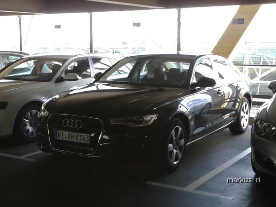 Audi A6 TDI @ AVIS LEJ 05.11.