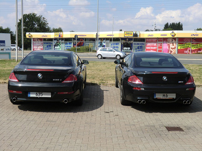 BMW M6 Coupé - BMW 635d Coupé