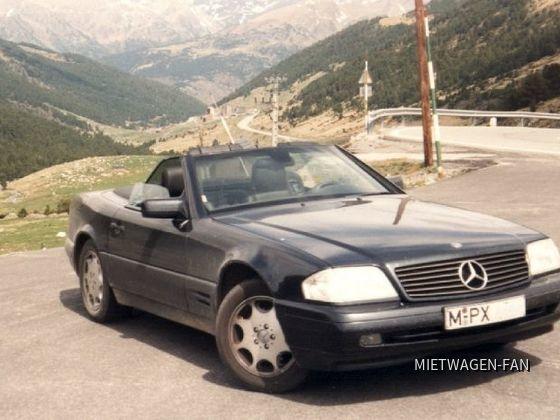 SL 320 von Sixt in Andorra