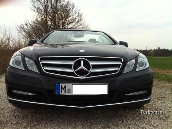 Mercedes Benz E200 Cabrio front