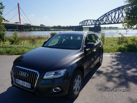 Neu in der Flotte: Audi Q5 2.0 TDI quattro S tronic - Stand: 21.08.14