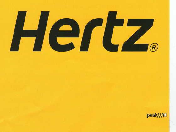 Hertz-Flughafen-Einhänger Oktober 2011