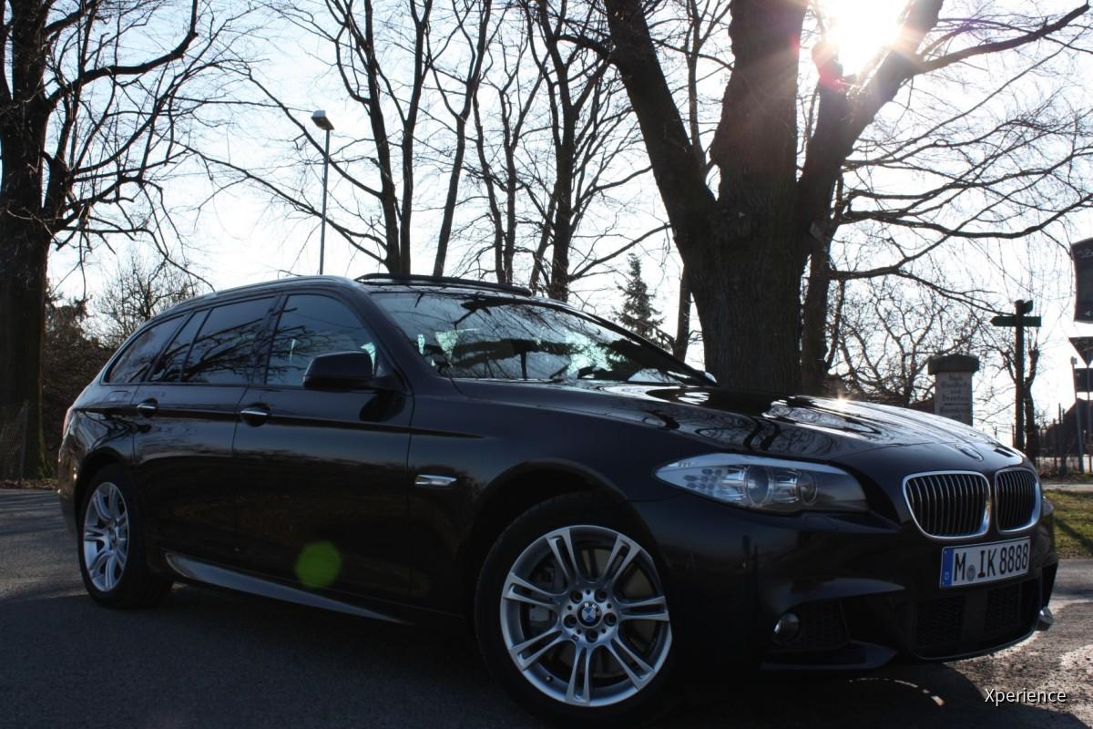 BMW 535d touring (F11) M-Sportpaket   Sixt Dresden Flughafen