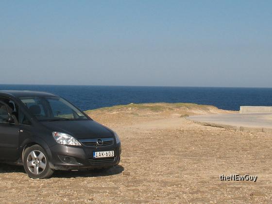 Opel Zafira 1.9 D auf Malta
