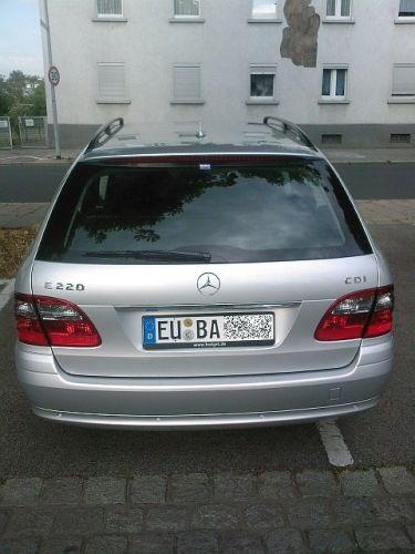 ...E220 CDI T von Budget...