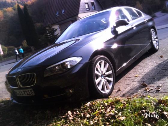 BMW 520d F10 von Sixt