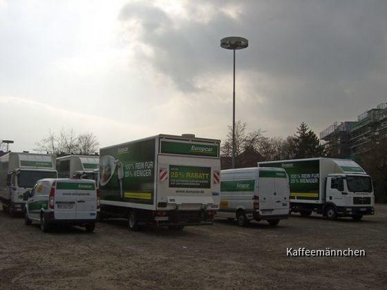Europcar Wiesbaden am 22.03.09