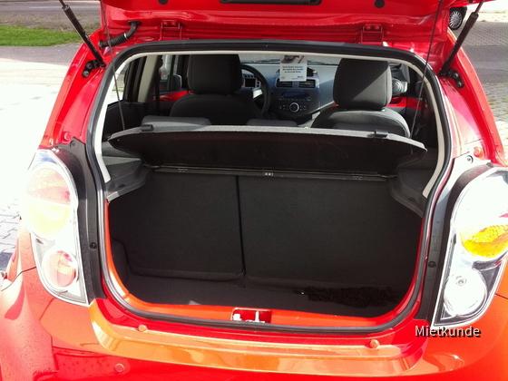 Chevrolet Spark 1.2 LT Hertz September 2011