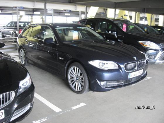 SIXT LEJ 11.06. - BMW 535d Touring Automatik