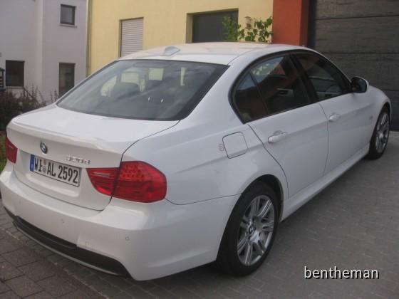 BMW 320d Weiss M Paket