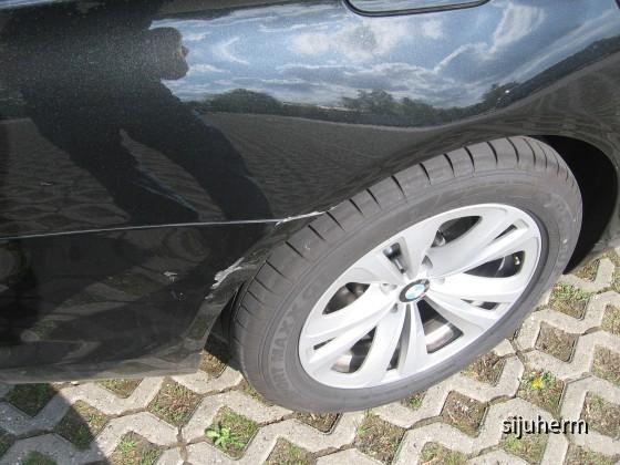 BMW 730d Schaden